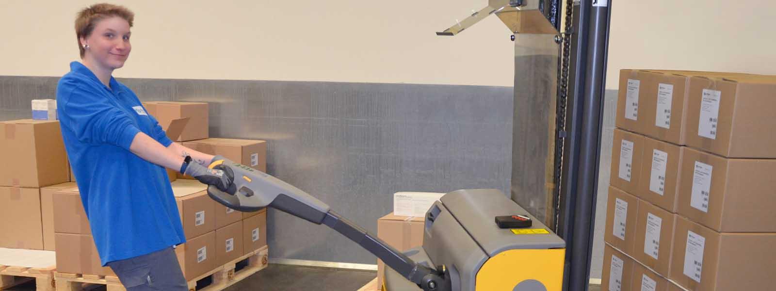 arbeitsfeld lager und verpackung